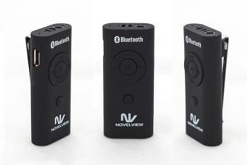 가성비 좋은 클립형 블루투스 이어폰... 노벨뷰 NVV322