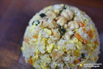 중국집처럼 꼬들 탱글~맛있게 '새우볶음밥 만드는 법'