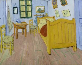 Airbnb에 올라온 고흐의 방
