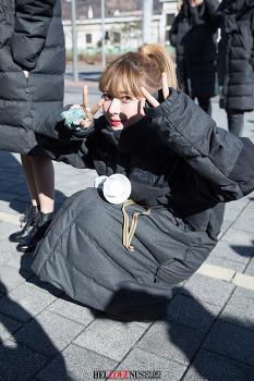 170114 상암 MBC 음악중심 헬로비너스 팬미팅 직찍 #1 by 아데스