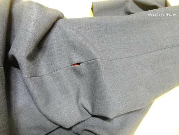 뜯어진 치마, 바지 옆선 바느질 하기, 옷수선