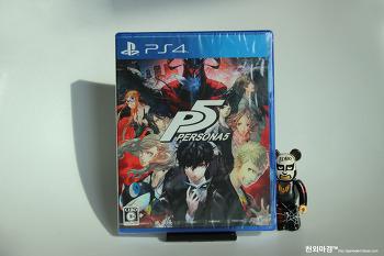 PS4 페르소나5 밀봉