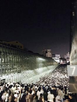 이화여대 학생들, 졸업생들 대규모 시위
