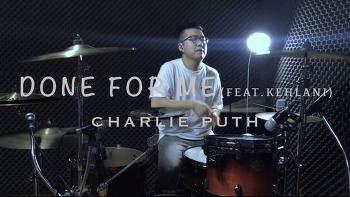 """Charlie Puth(찰리푸스) - Done for me""""Feat.Kehlani""""(돈포미""""피처링.킬라니"""") Drum cover by ROP"""