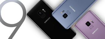 삼성 - 갤럭시 S9 / 갤럭시 S9 플러스, 공식 프레스 이미지 유출