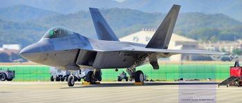 대한민국 영공을 날으며, 때론 강렬하게, 때론 파워풀하게, 때론 부드럽게 진정한 맹금이 F-22 랩터