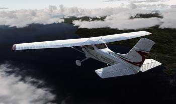 [P3D v4]울진공항-김해공항 (RKTL-RKPK), CT182T