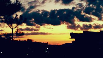 하늘...