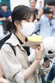 [2017.10.09] 인천공항 입국 아이유