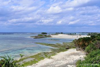 [일본여행] 고운 물빛과 하얀 모래의 아름다운 해변, 오키나와 에메랄드비치