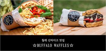 [칠레 산티아고 맛집] 칠레 산티아고에서 맛 본 독특한 와플, 버팔로 와플(Buffalo Waffles)