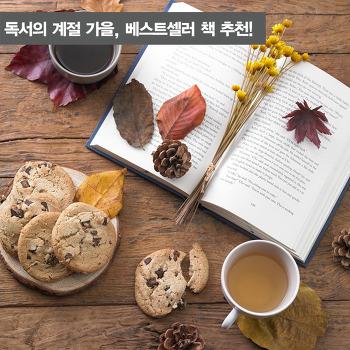 독서의 계절 가을, 베스트셀러 책 추천!