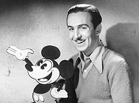 월트 디즈니, 애니메이션의 아버지