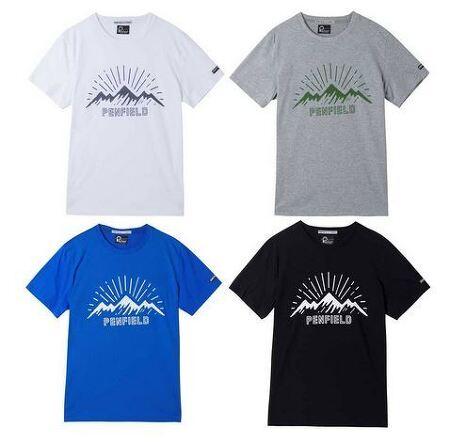 펜필드 SUNRISE 라운드 반팔 티셔츠