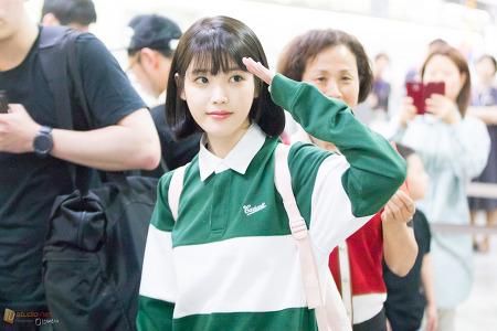 170520 김포공항 출항 아이유 by 미스터신