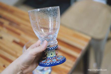 [폴란드그릇 앳홈코리아]폴란드 수공예 와인잔