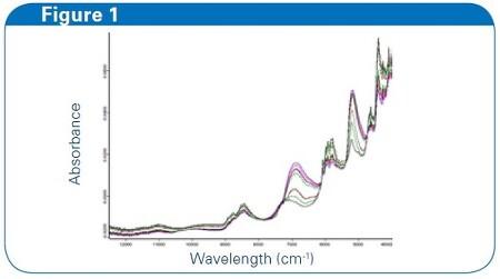 FT-NIR에 의한 유동층건조기에서 분말시료의 수분분석