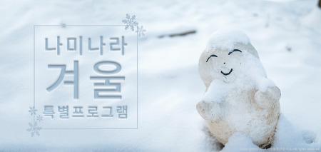 [남이섬/겨울방학/여행] 나미나라 겨울 특별 프로그램
