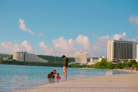 15개월 아기와 함께하는 괌 자유여행(7) / 하얏트 리젠시,괌프리미엄아울렛(GPO),론스타스테이크하우스,비치인쉬림프