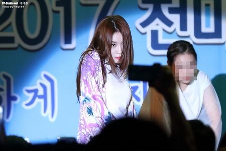 [17.09.22] 영남대학교 축제 청하(김청하) Chungha 무대 직찍 by 마이콜