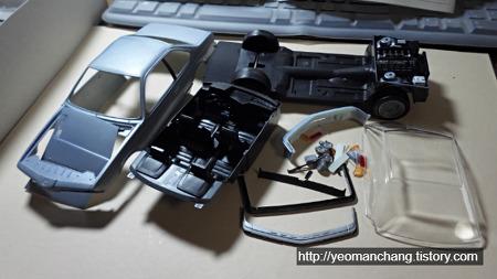 [아카데미] BMW M635CSi 제작기 (2)