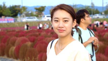 [여친 동영상]여자친구 영상 편집  (천일홍축제 캐논 80D)