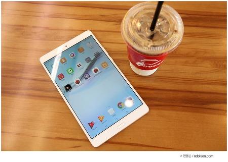 화웨이 비와이패드 2 태블릿 후기, 카페에서 쓰기 좋은 태블릿PC 추천