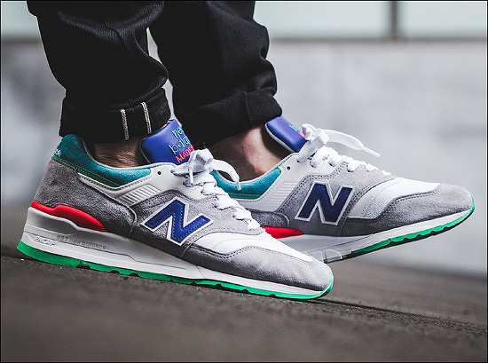 """New Balance M997 """"Multi Color""""_Made in USA - Summer 2017 