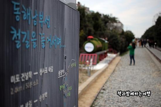 [부산여행] 미포 철길 (해파랑길)따라 청사포까지 걷기여행