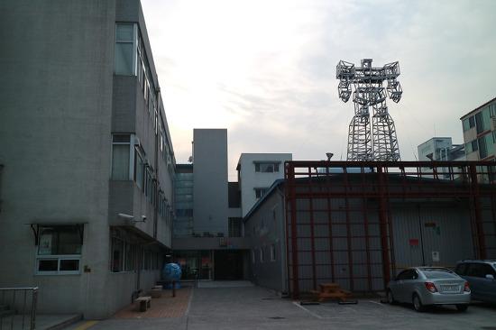 외국 예술가가 본 한국은 태극기 공화국