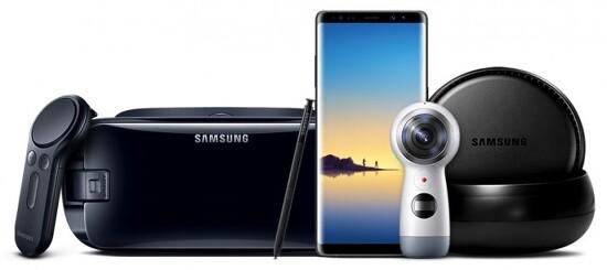 삼성 - 갤럭시노트8 공식 발표 (공식 스펙 및 프로모션 영상)