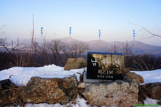 객산, 남한산 연계 산행