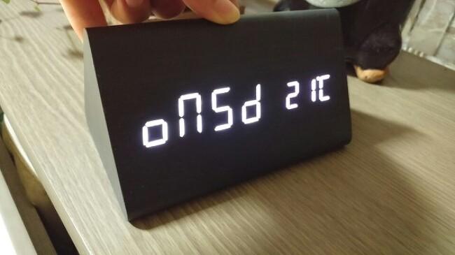 코비 무소음 LED 알람 탁상시계(AL50), 책상시계 추천