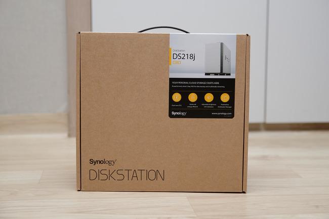 시놀로지 나스 DS218j 구입 및 간단 개봉기