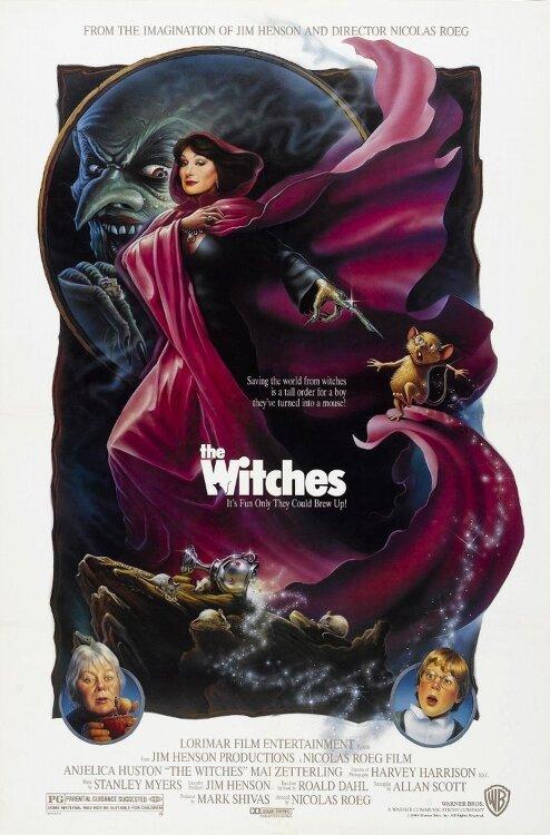 마녀와 루크(The Witches)... 니콜라스 뢰그, 안젤리카 휴스턴, 제이슨 피셔... 로알드 달 소설 원작 영화