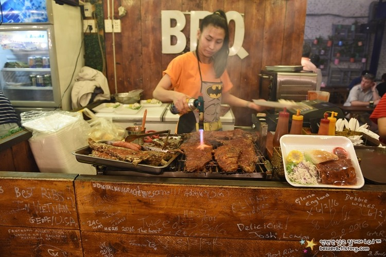 베트남여행 #56 호찌민 - 골라 먹는 재미가 있는 '스트리트 푸드 마켓'