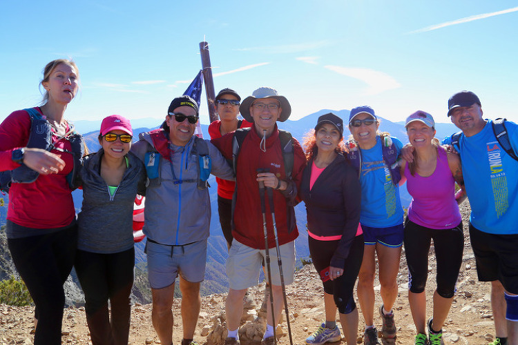 LA 뒷산에서 PCT 맛보기, 앤젤레스 국유림 샌가브리엘 산맥의 마운트 베이든파웰(Mt Baden-Powell)