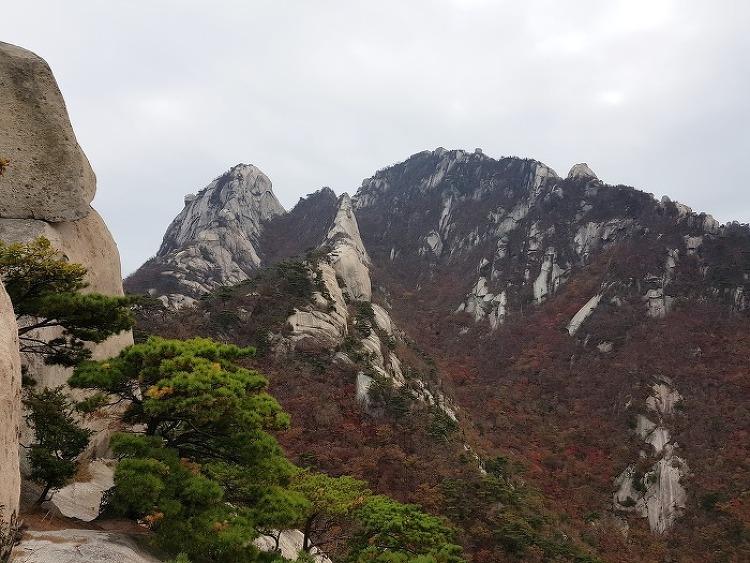 북한산 숨은벽 산행