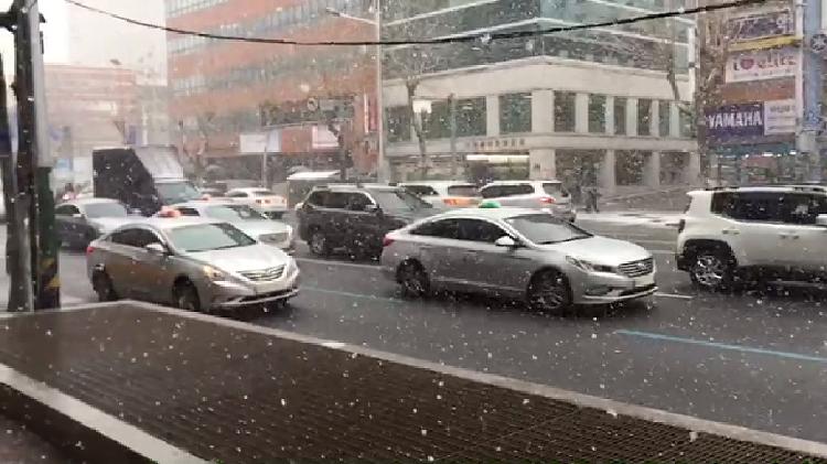 부산에 눈이 왔던날의 슬로우