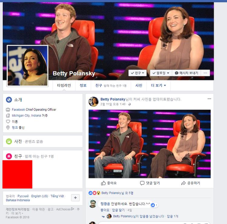 너무나도 심한 페이스북 사기 경보