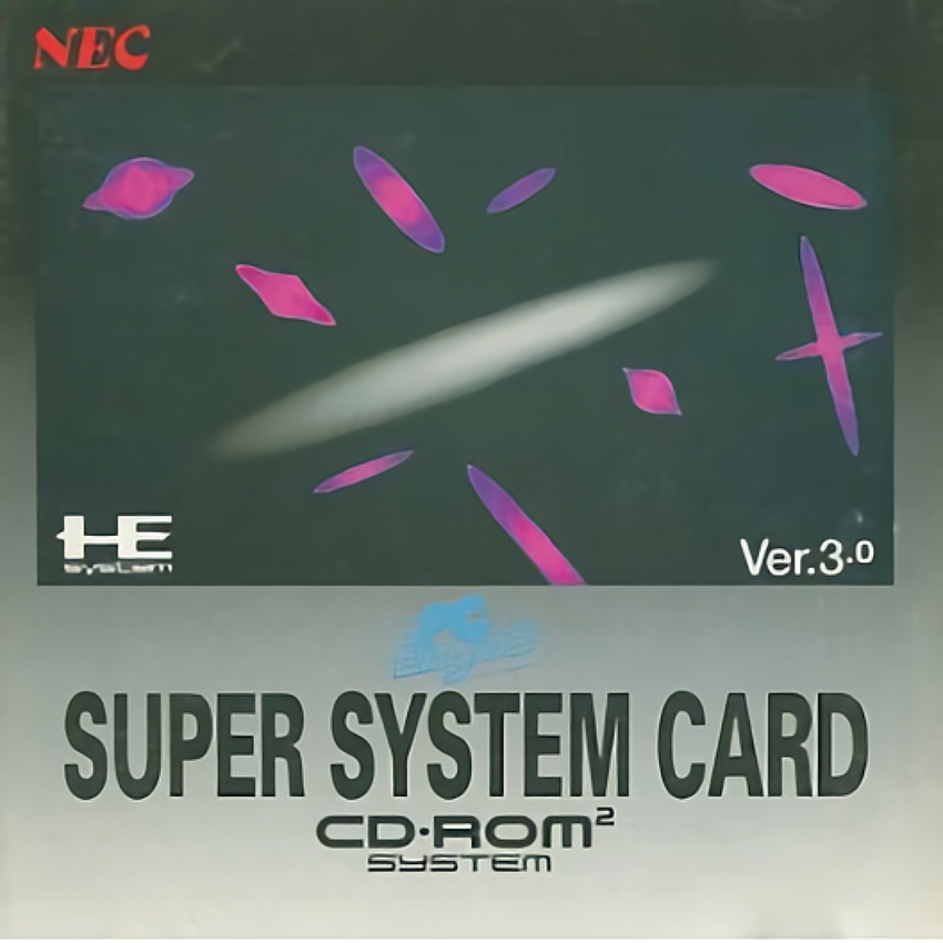 [PCE]PC Engine CD-ROM SYSTEM CARD