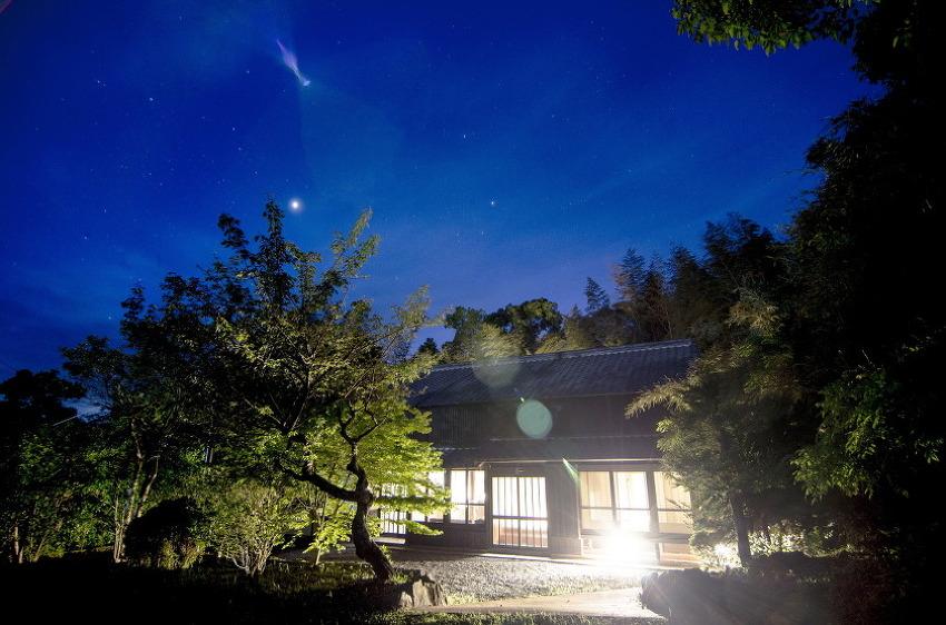 일본의 고택에서 3일간 숙박을 했습니다.