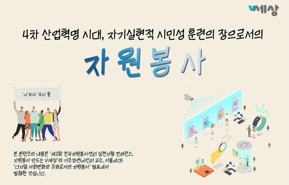 [전국컨퍼런스자료] 디지털 사회변화와 주체로서의 자원봉사(이선미 교수)
