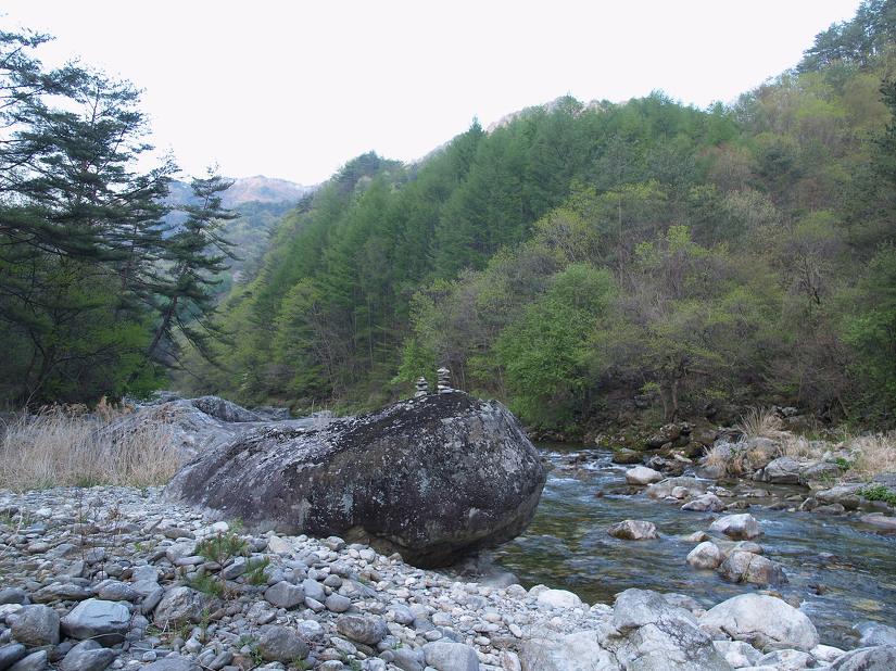 내리계곡~선달산 칠룡동 ①