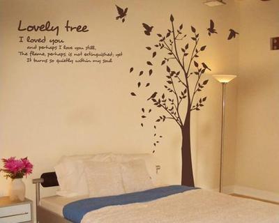 봉 머무르다 : [침실포인트벽지]침실 포인트스티커-방 포인트 ...