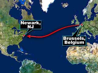 비행 경로 (출처: Fox News)