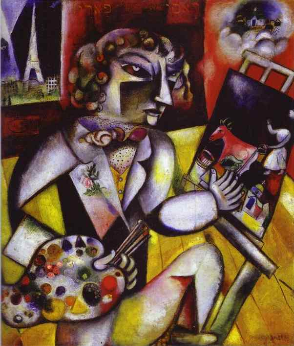 Turbo Art & Story :: marc chagall PQ64