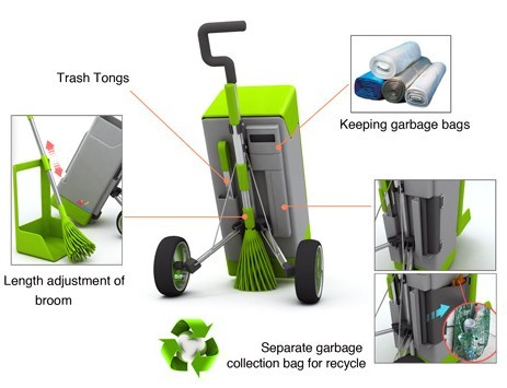 환경미화원 청소도구를 바꾸자