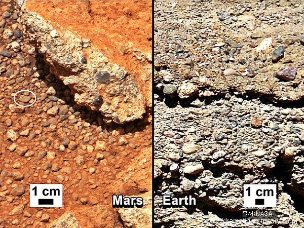 큐리오시티가 보내온사진 정밀분석-2