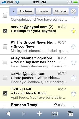 poetic_folly님의 글 Google Mobile - Gmail all new, Calendar Events editable @ 2009/04/09 10:46AM에서 사진 발췌